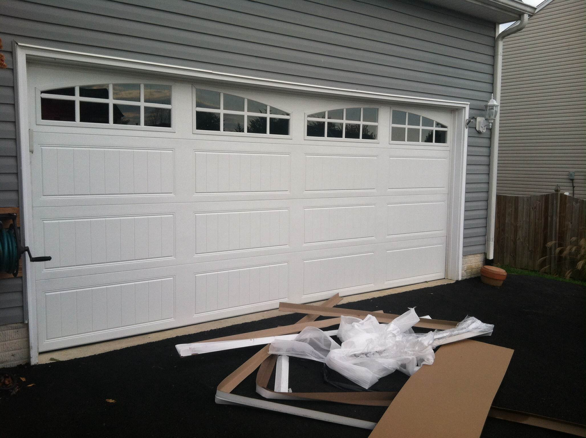 garage door cost swopes spring replacement